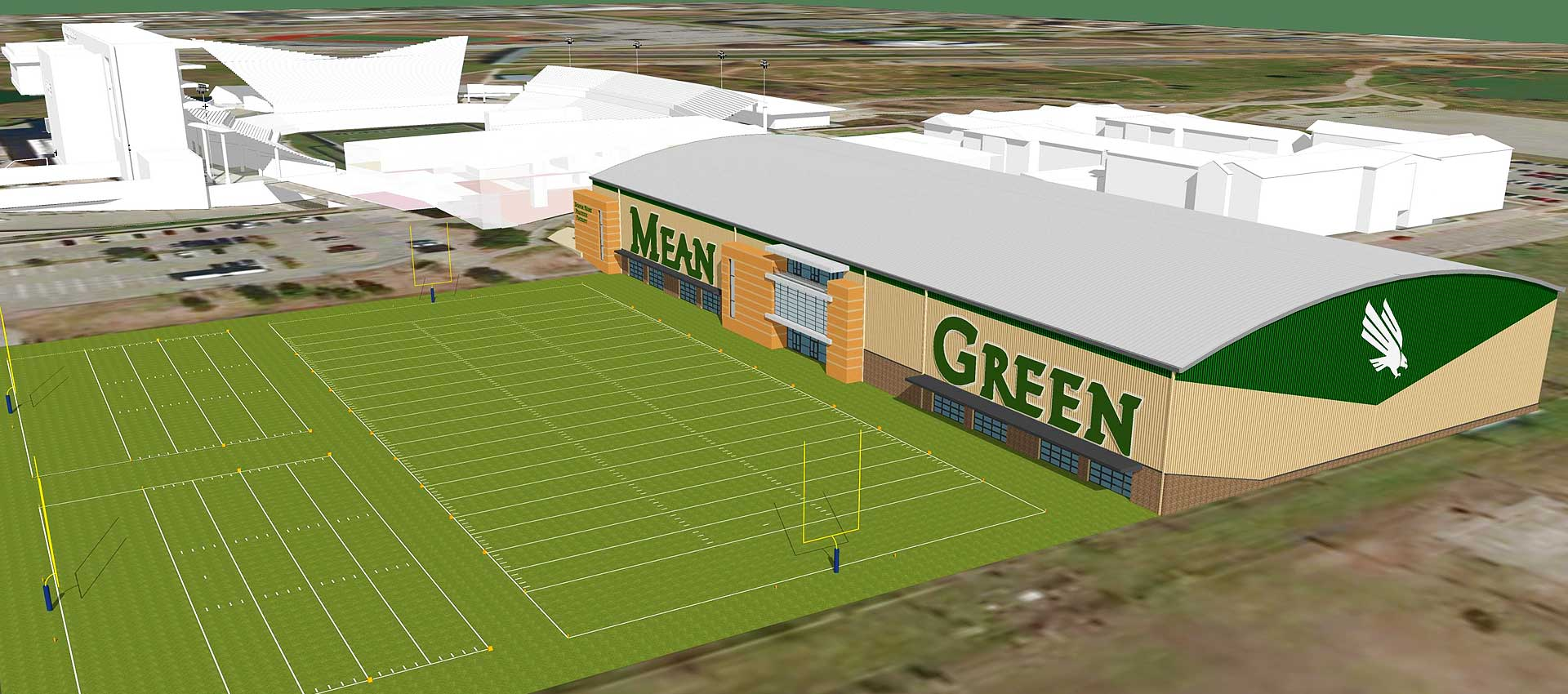 Light The Tower Master Plan Indoor Practice Facility
